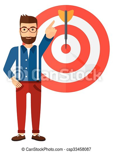 Achievement of business goal. - csp33458087