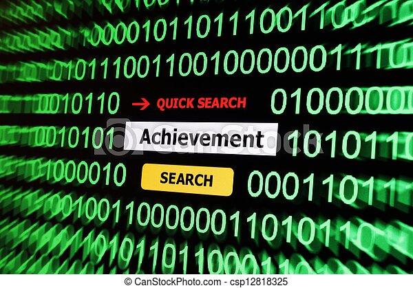 Achievement - csp12818325