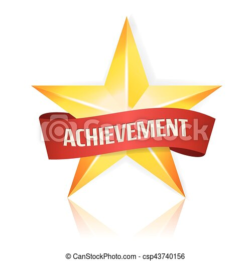 achievement vector star with red ribbon yellow sign place winter clip art black and white winter clip art images
