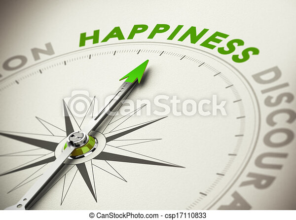 Achieving Happiness Concept - csp17110833