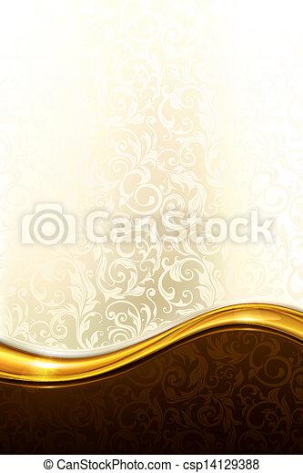 achtergrond, eps10, luxe - csp14129388