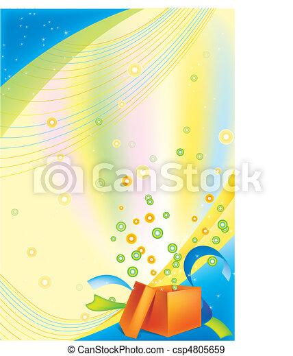 achtergrond, feestelijk - csp4805659