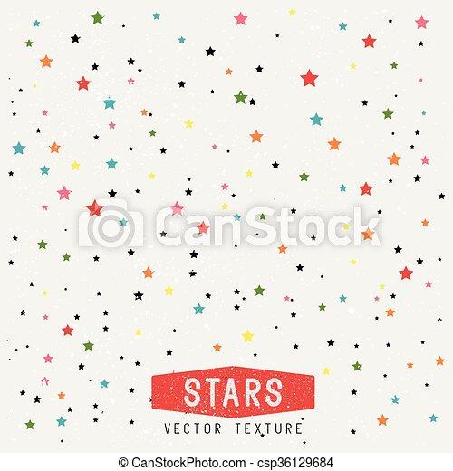achtergrond, sterretjes, textuur - csp36129684