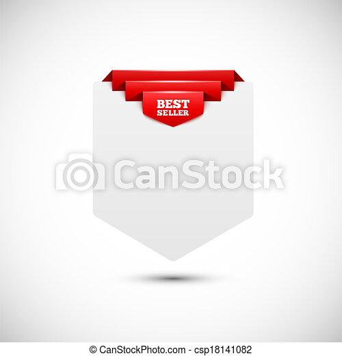 achtergrond., tag., papier, verkoop, leeg - csp18141082