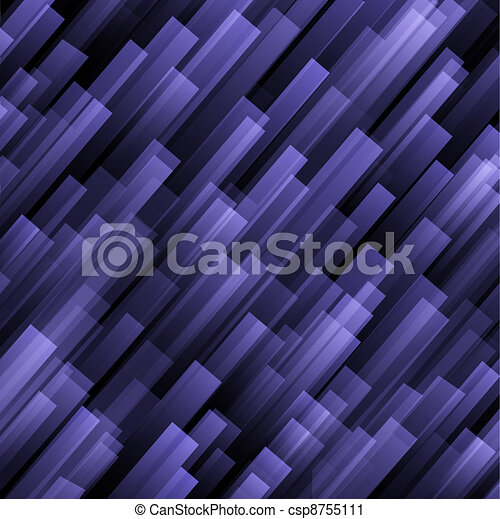 achtergrond, viooltje, abstract - csp8755111