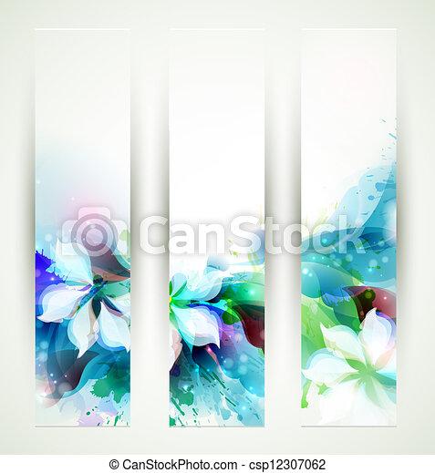 achtergronden, artistiek, abstract - csp12307062