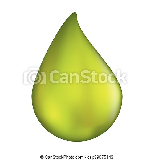 acid drop vector symbol icon design. illustration isolated on white background - csp39075143