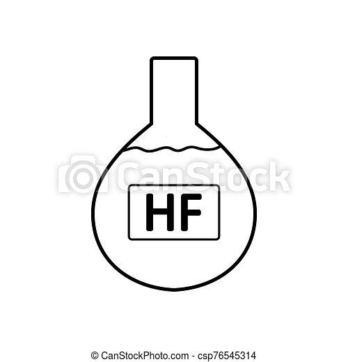 acid., laboratorio, hydrofluoric, vetro - csp76545314