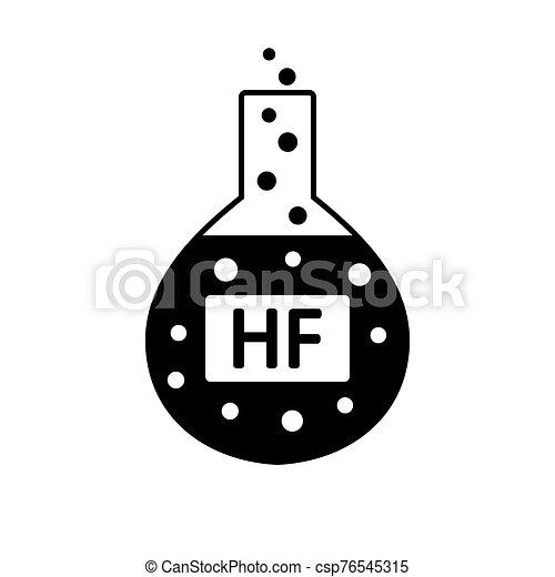 acid., laboratorio, hydrofluoric, vetro - csp76545315