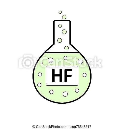 acid., laboratorio, hydrofluoric, vetro - csp76545317