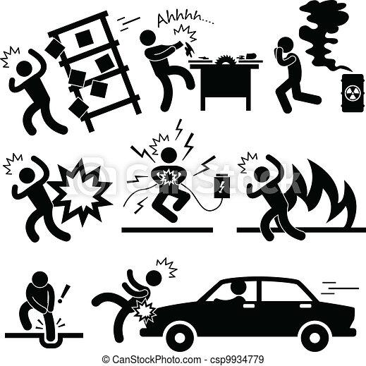 acidente, explosão, risco, perigo - csp9934779