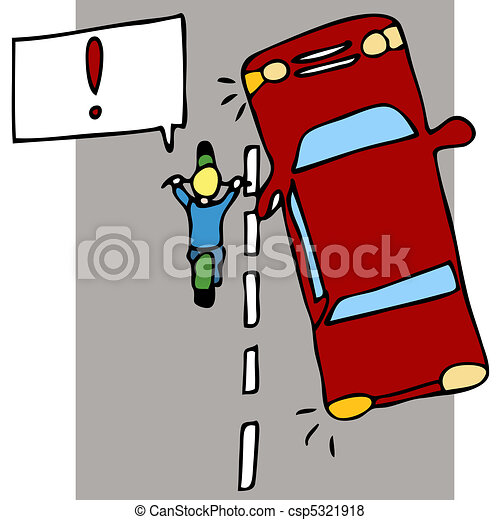 acidente, motocicleta - csp5321918