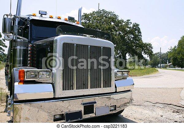 acier, américain, camion, stainelss - csp3221183