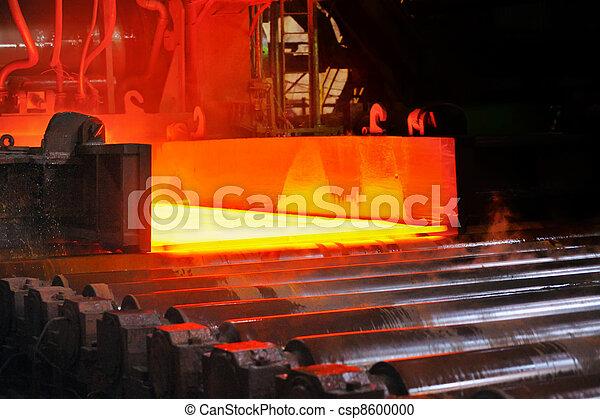 acier, chaud, convoyeur - csp8600000