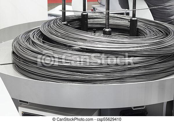 acier, matière première, tige - csp55629410