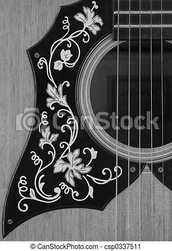 Acoustic Guitar 1 Stock Photography