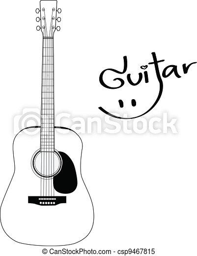 Acoustic Guitar - csp9467815