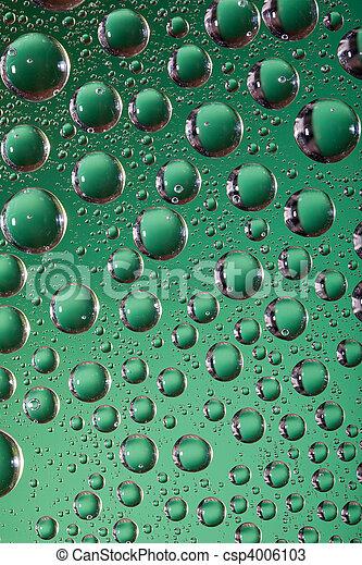 Acqua Sfondo Verde Acqua Fondo Gocce Verde Collection