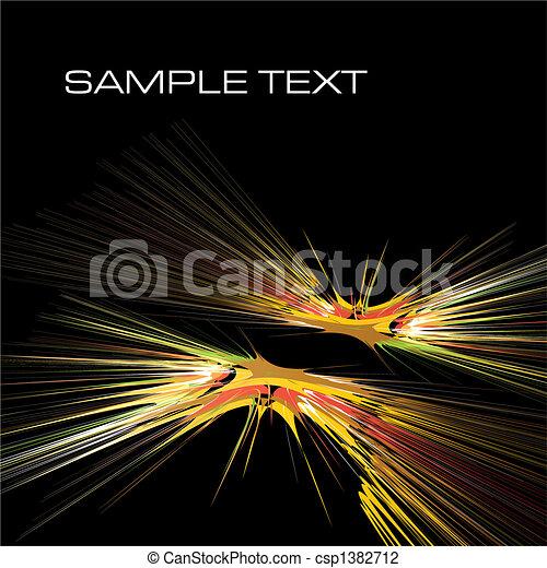 acquarello, contemporaneo - csp1382712