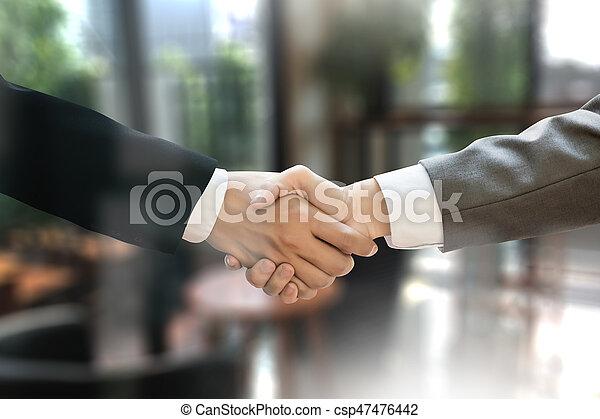 acquisitions), m&a, χειραψία , γραφείο , εργαζόμενος , (mergers, επιχειρηματίας  - csp47476442
