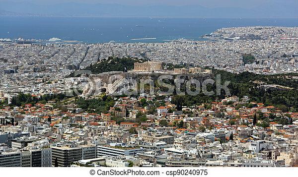 Acropolis Athens Greece - csp90240975