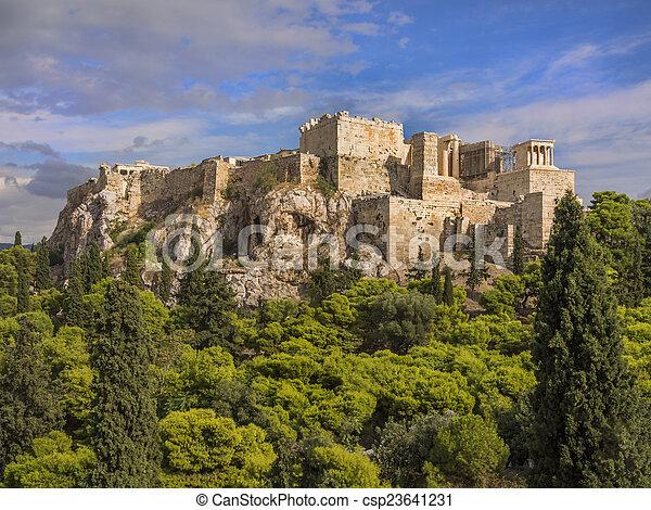 Acropolis, Athens, Greece - csp23641231