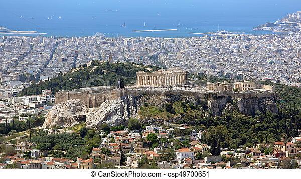 Acropolis Athens - csp49700651