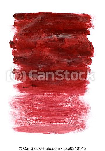 acryl, rood, textuur - csp0310145