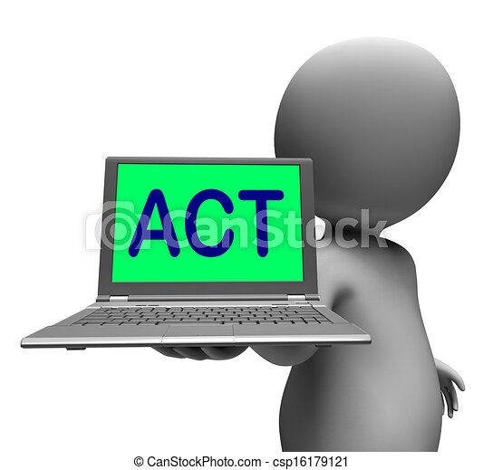act laptop character shows motivation inspire or performing clip rh canstockphoto ie motivation clip art free motivational clip art free