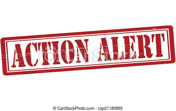 action, alerte - csp21180865