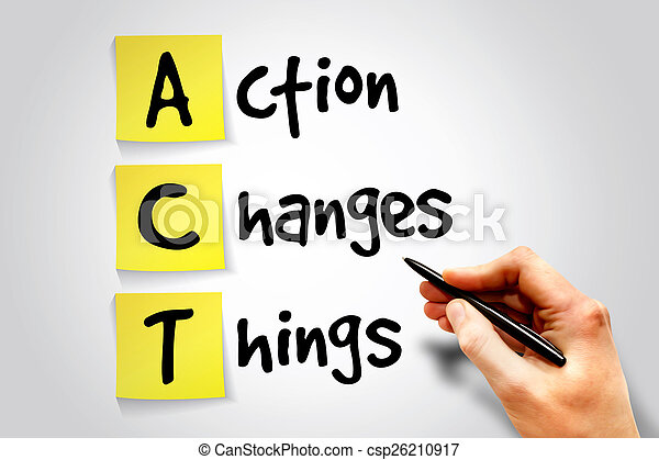 Action Changes Things - csp26210917