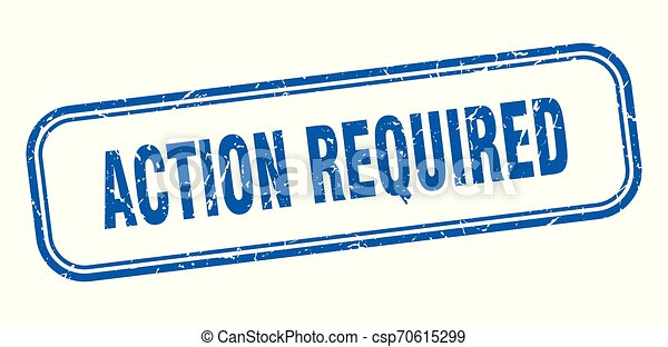 action required - csp70615299