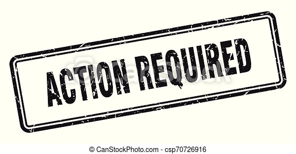 action required - csp70726916