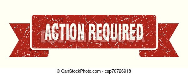 action required - csp70726918