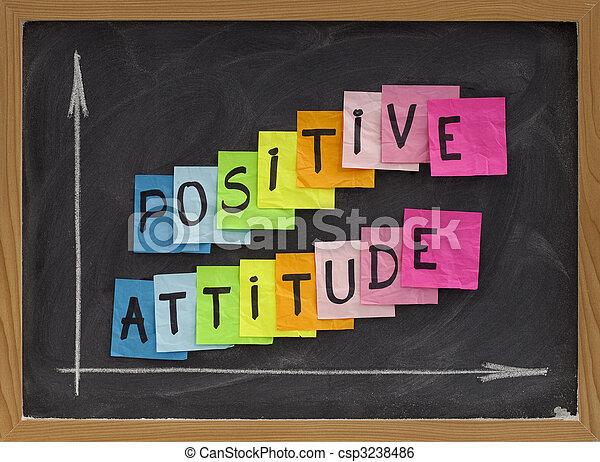 Actitud positiva - csp3238486