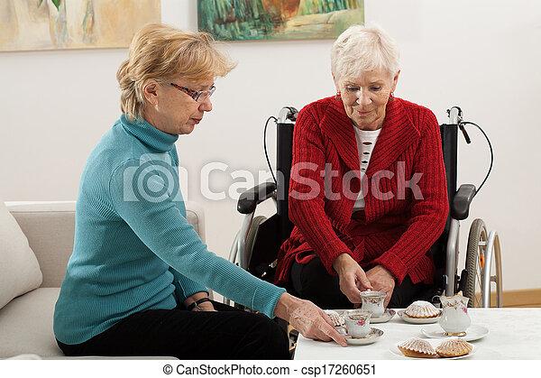 Active elderly - csp17260651