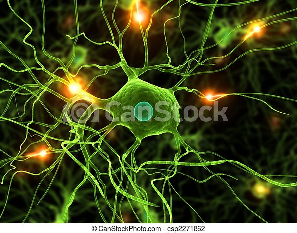 active nerve cells - csp2271862