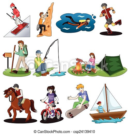 Outdoor Activities Clipart And Stock Illustrations 2526 Vector EPS Drawings Available To Search From Thousands Of