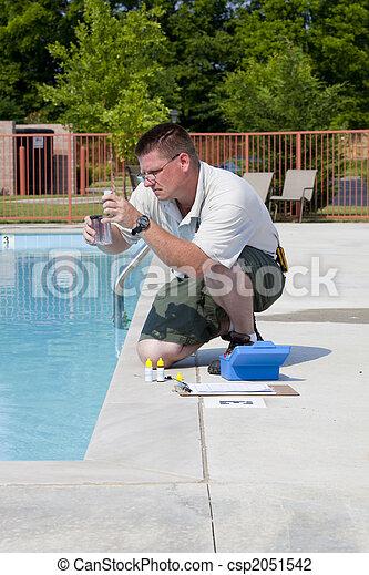 Active Pool  Chemical Testing - csp2051542
