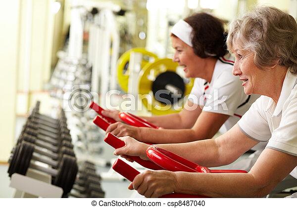 Active seniors  - csp8487040