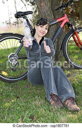 active woman - csp1807761