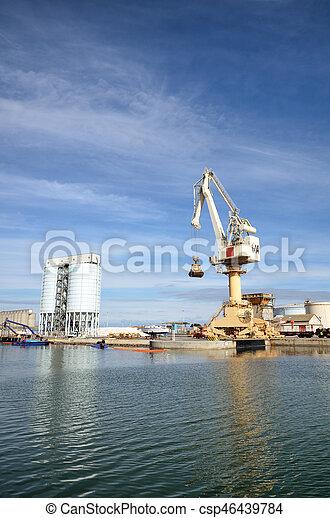 activités, commerce, port, mer - csp46439784