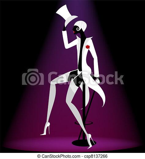 actor cabaret - csp8137266