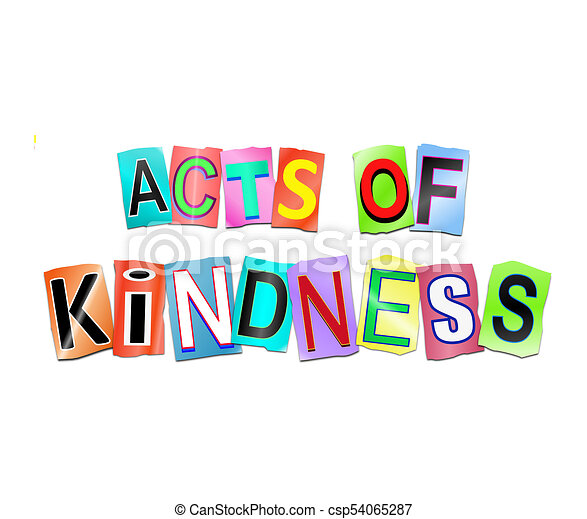 Acts of kindness concept. - csp54065287