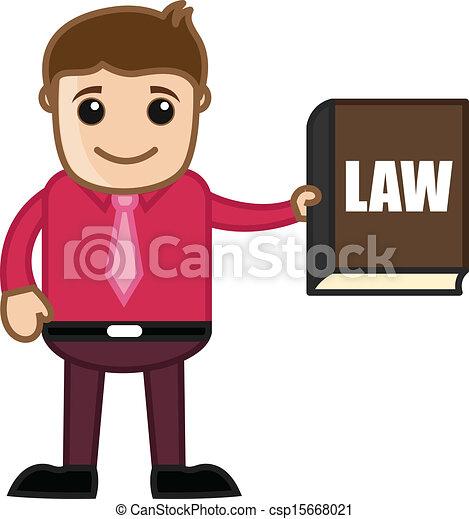 Mostrar un libro de leyes, conocer la ley - csp15668021