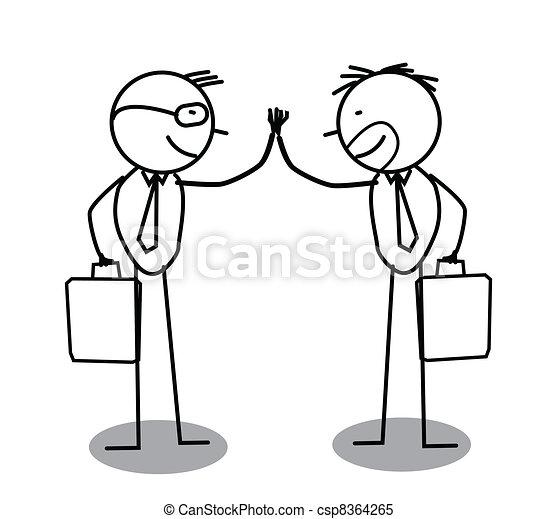 Un acuerdo de negocios - csp8364265
