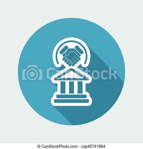 Un acuerdo legal - csp45741864