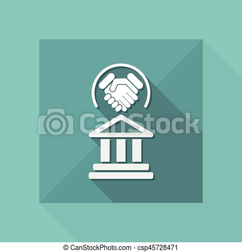 Un acuerdo legal - csp45728471