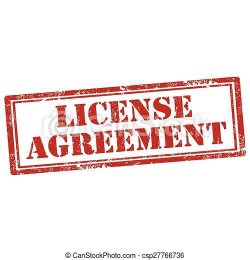 Acuerdo de licencia - csp27766736