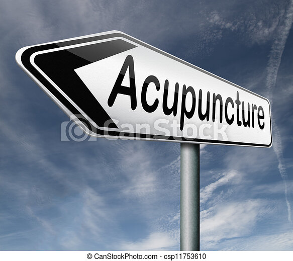 acupuncture - csp11753610
